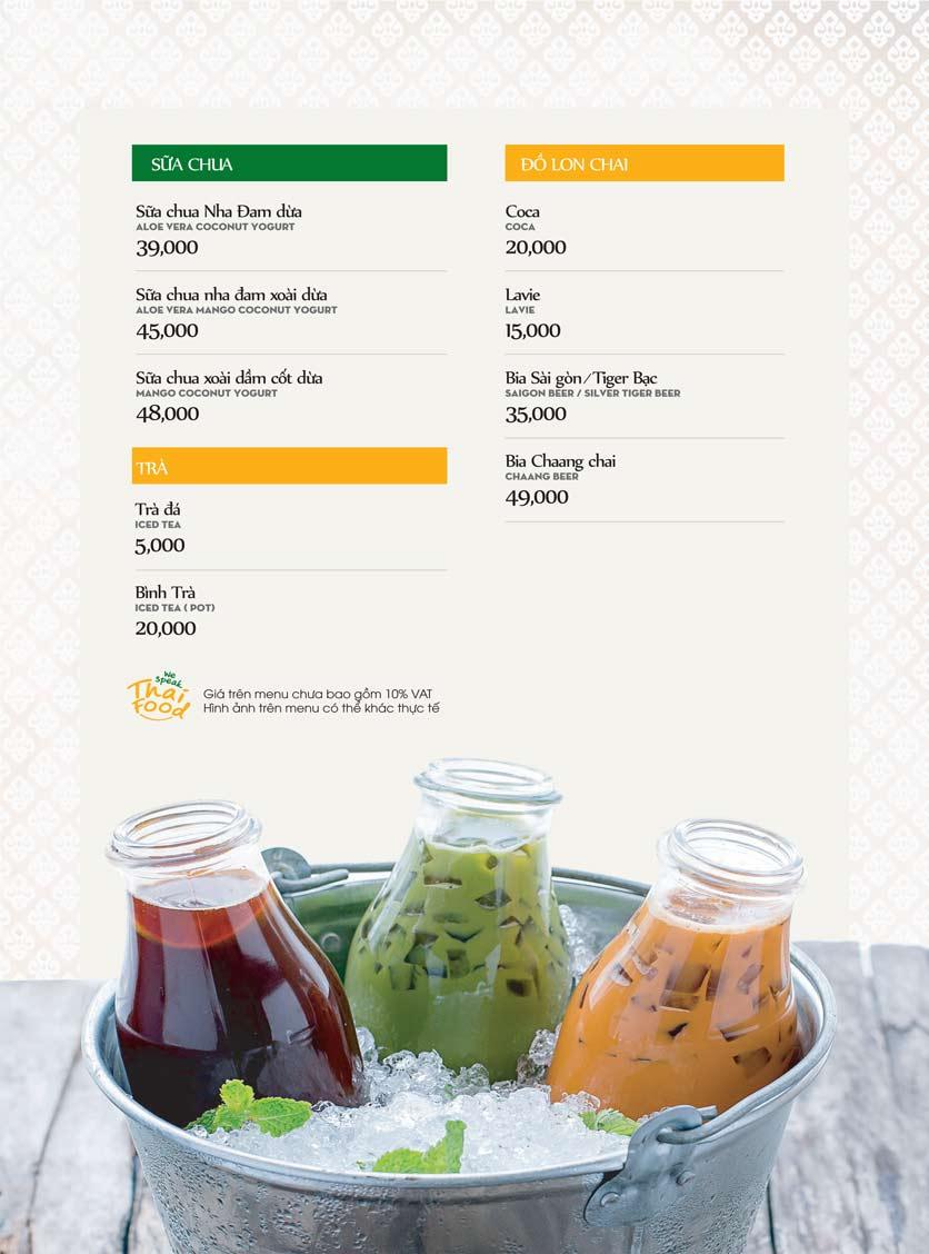 Menu Bếp Thái Koh Yam - Bà Triệu  27
