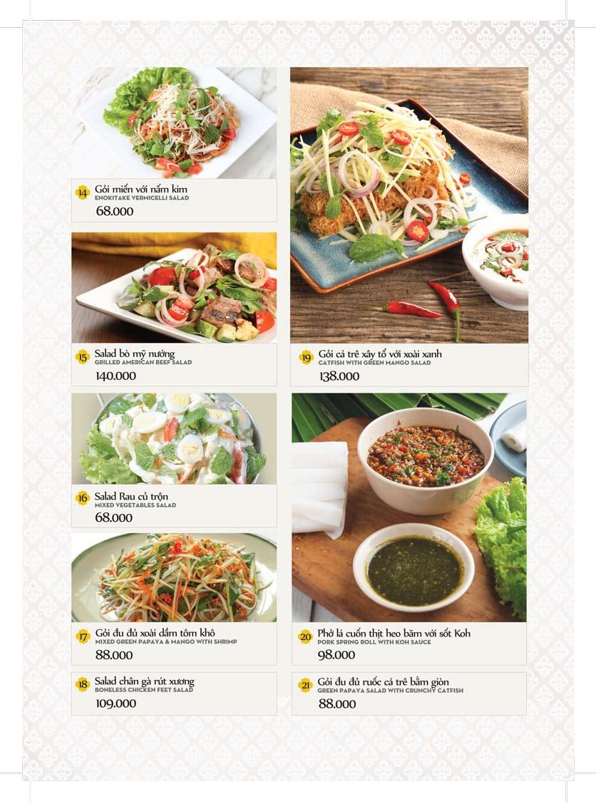 Menu Bếp Thái Koh Yam - Bà Triệu  8