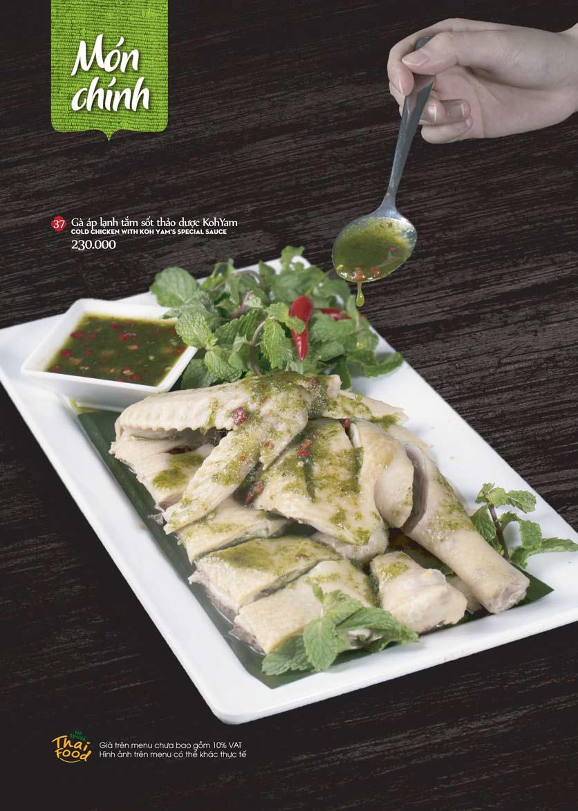 Menu Bếp Thái Koh Yam - Bà Triệu  12