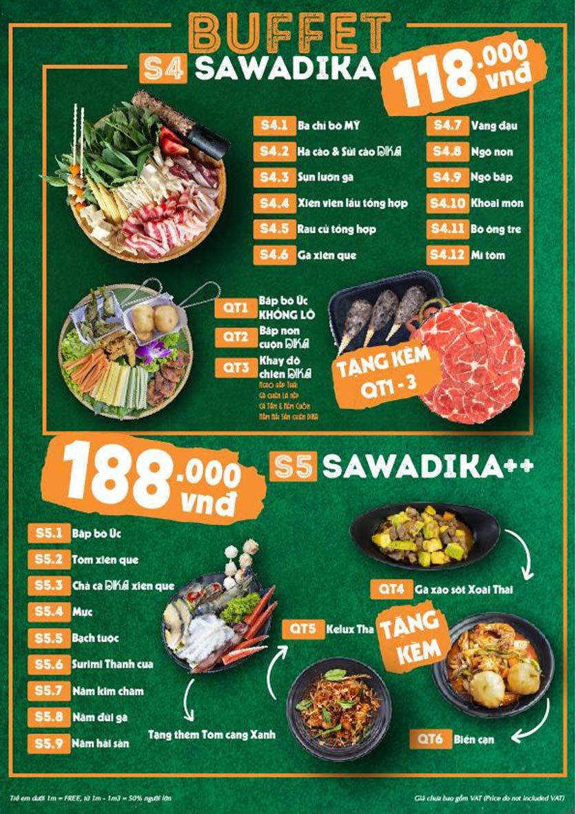 Menu Bếp Sawadika - Nữ Hoàng Lẩu Thái - Nguyễn Khánh Toàn 6