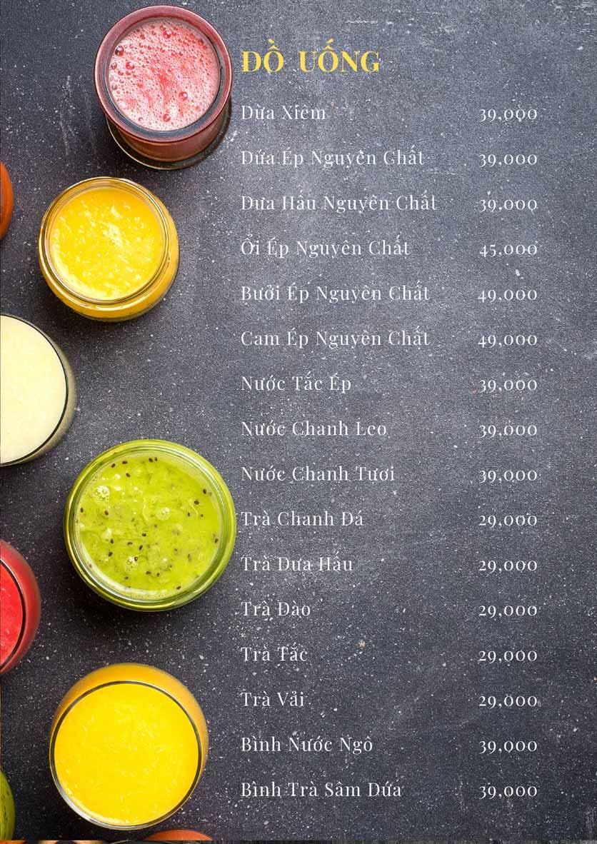 Menu Bếp Xuka – Minh Khai 13