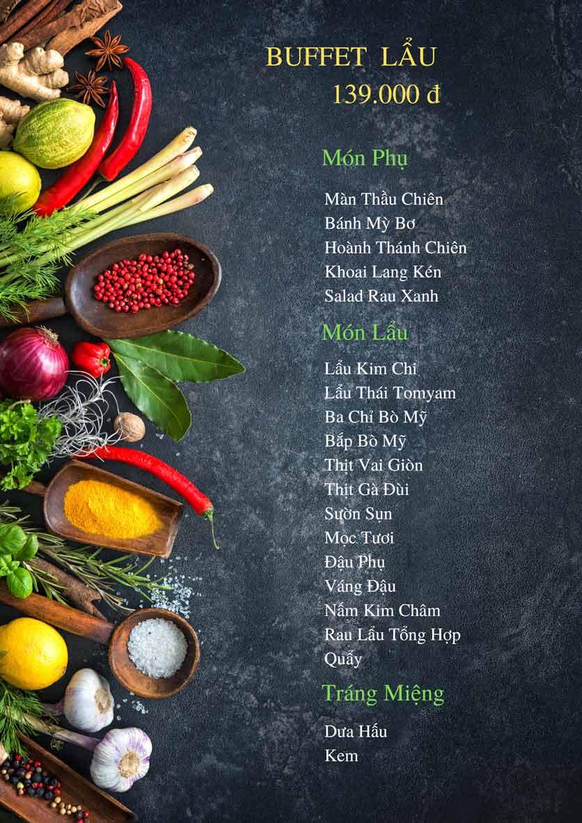 Menu Bếp Xuka – Minh Khai 5