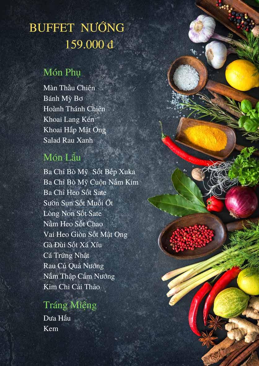 Menu Bếp Xuka – Minh Khai 6