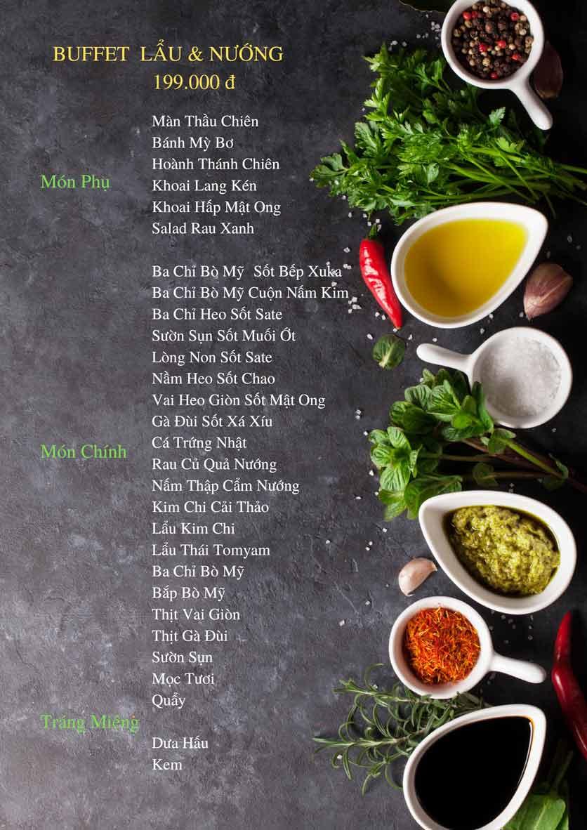 Menu Bếp Xuka – Minh Khai 7