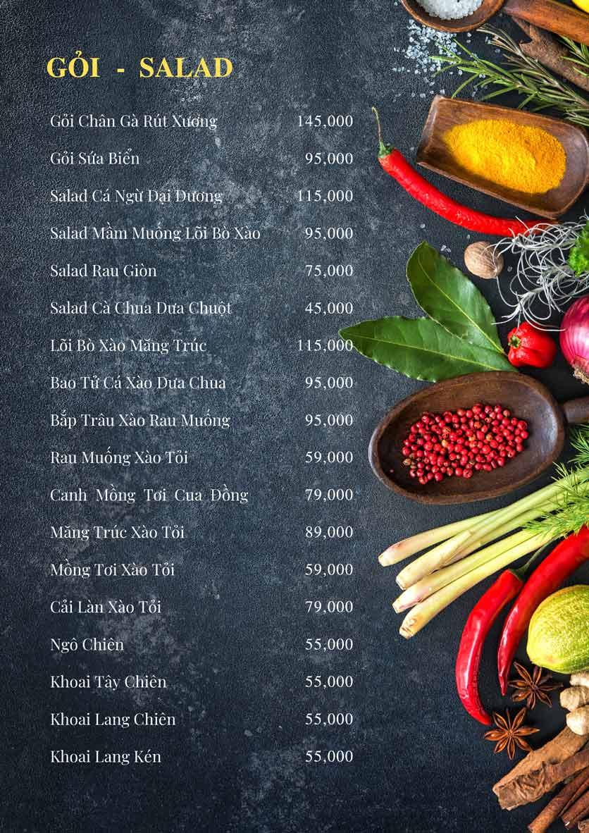 Menu Bếp Xuka – Minh Khai 8