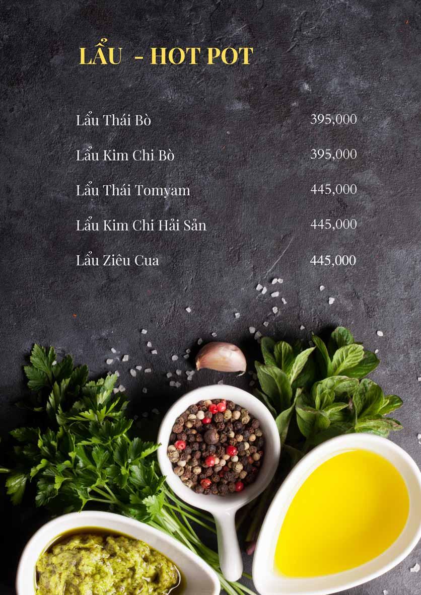 Menu Bếp Xuka – Minh Khai 11