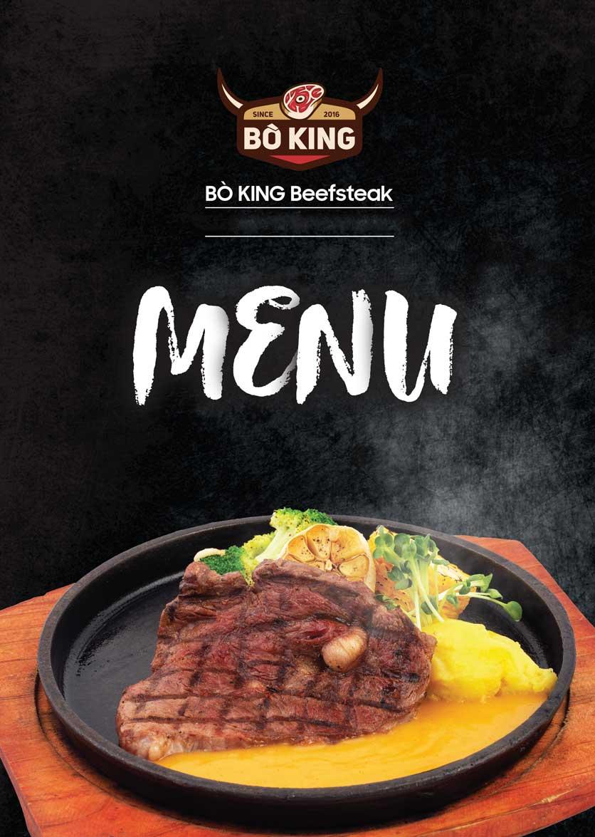 Menu Bò King Beefsteak - Đào Tấn 1