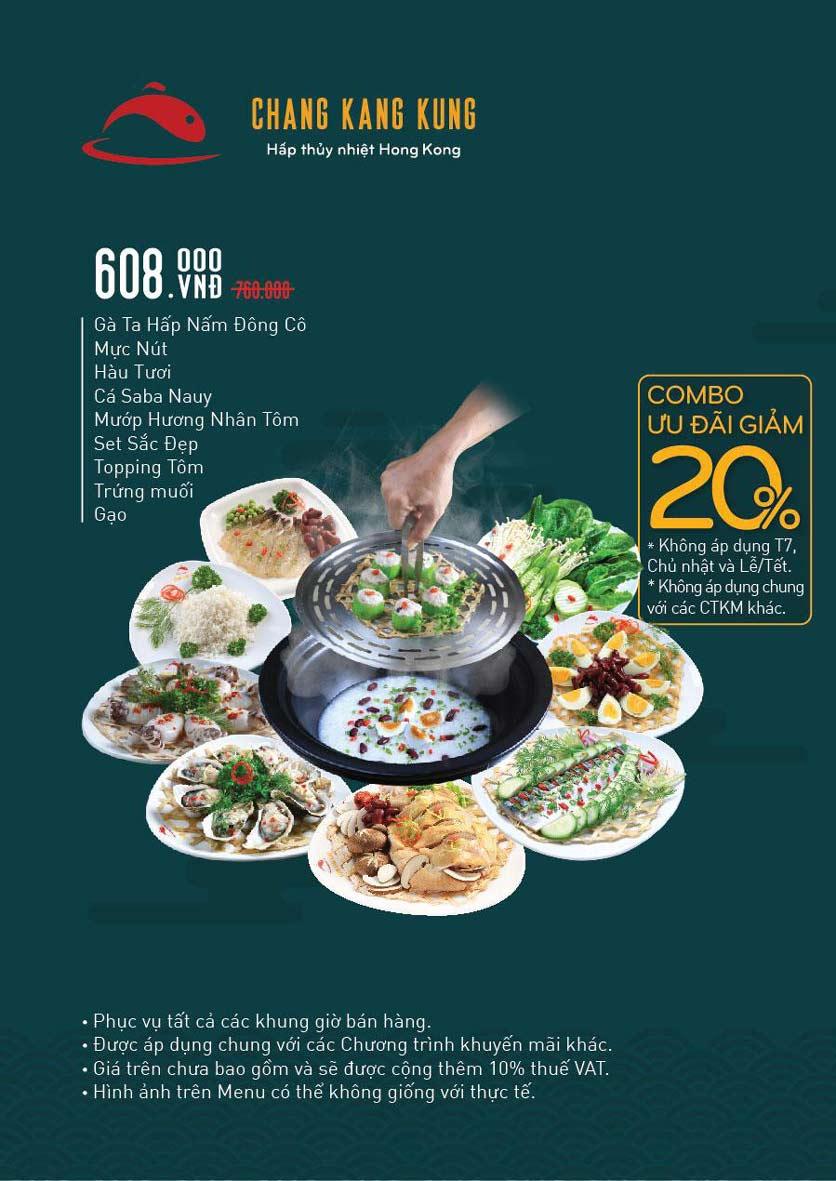 Menu Chang Kang Kung – Hấp thủy nhiệt Hong Kong - Vạn Hạnh Mall 3