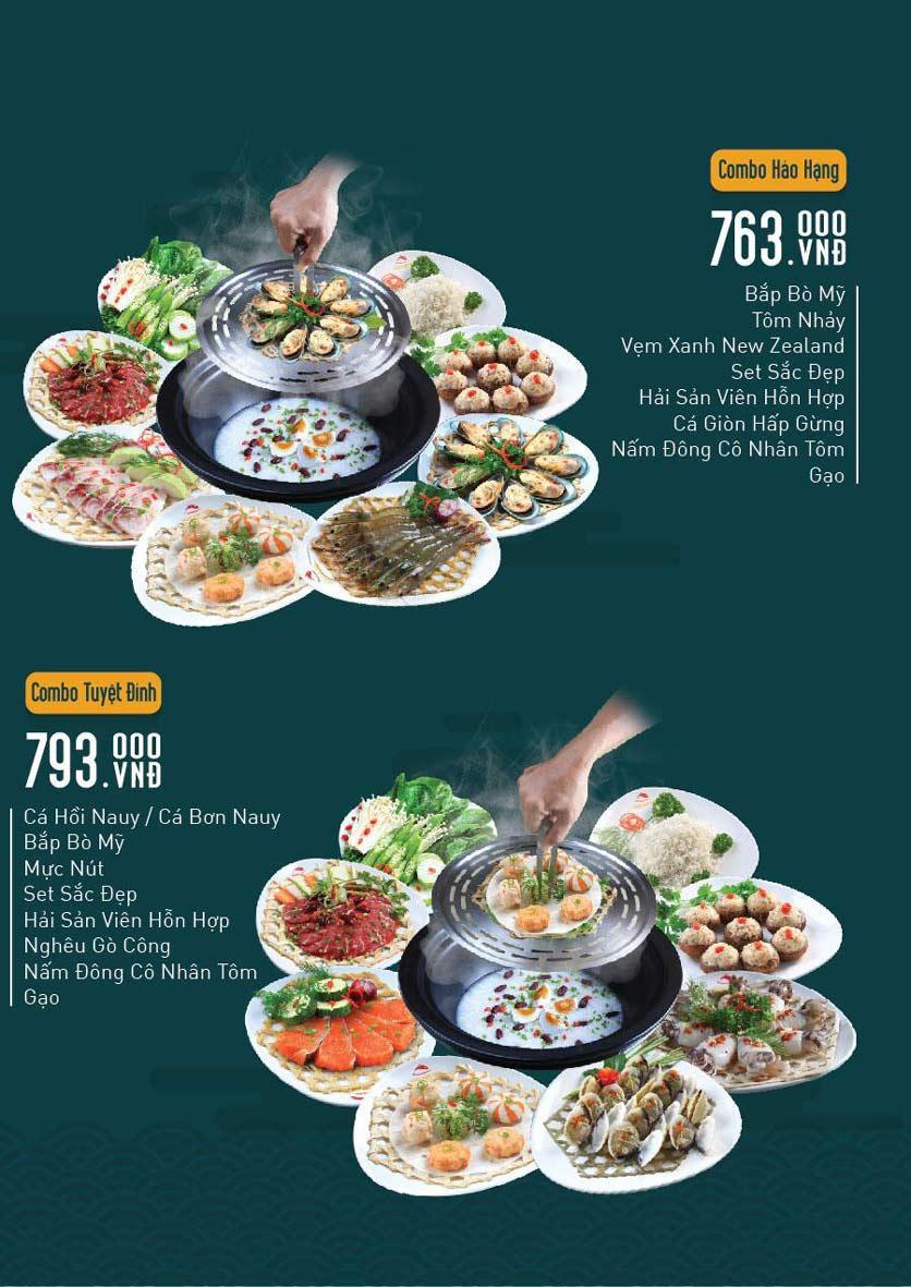 Menu Chang Kang Kung – Hấp thủy nhiệt Hong Kong - Vạn Hạnh Mall 4
