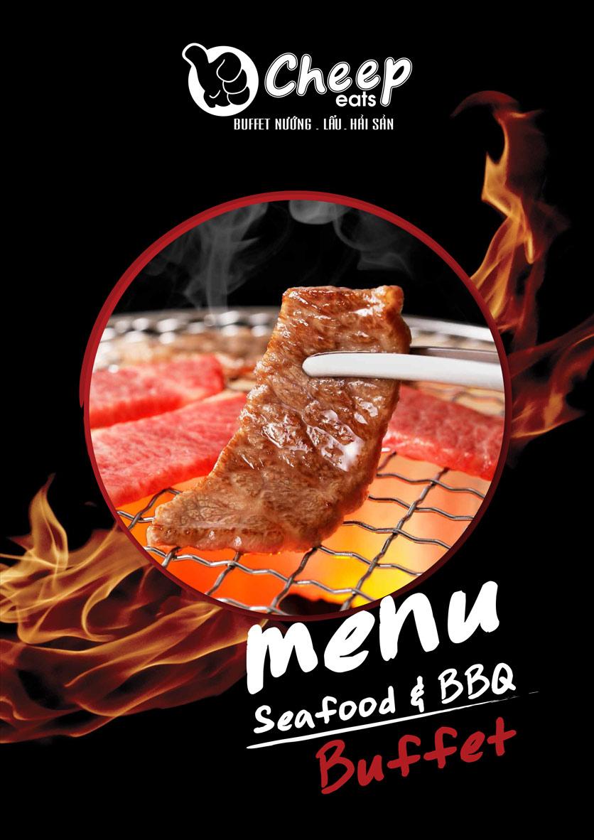 Menu Cheep Eats - Buffet nướng - lẩu - hải sản - Nguyên Hồng 1