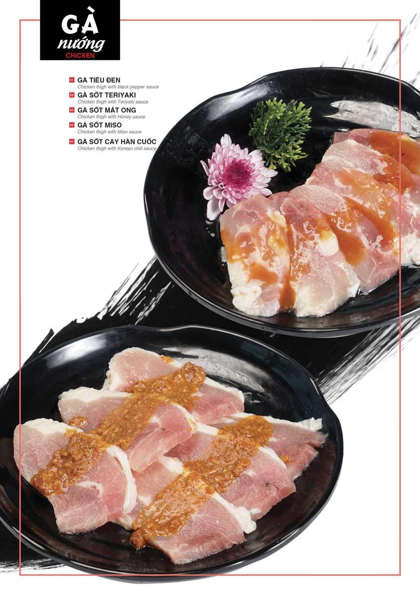 Menu Cheep Eats - Buffet nướng - lẩu - hải sản - Nguyên Hồng 10
