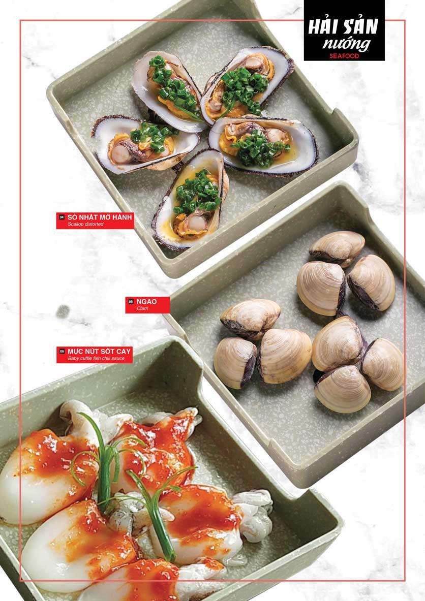 Menu Cheep Eats - Buffet nướng - lẩu - hải sản - Nguyên Hồng 12