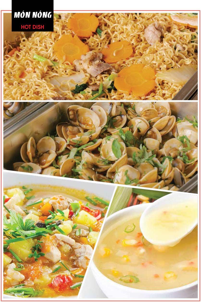 Menu Cheep Eats - Buffet nướng - lẩu - hải sản - Nguyên Hồng 15