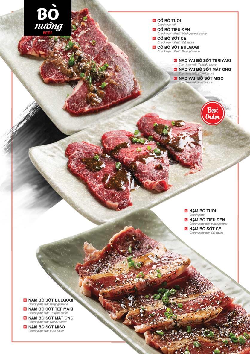 Menu Cheep Eats - Buffet nướng - lẩu - hải sản - Nguyên Hồng 6