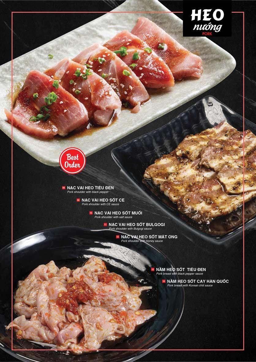 Menu Cheep Eats - Buffet nướng - lẩu - hải sản - Nguyên Hồng 11
