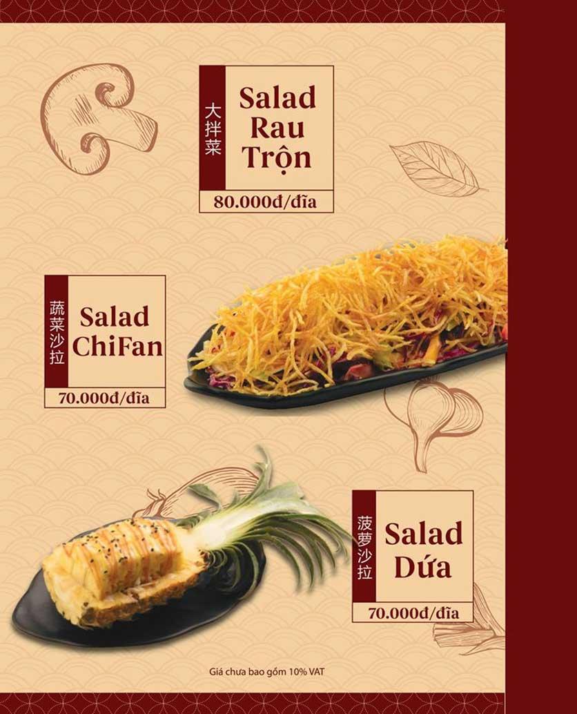 Menu ChiFan - Trung Hòa 12
