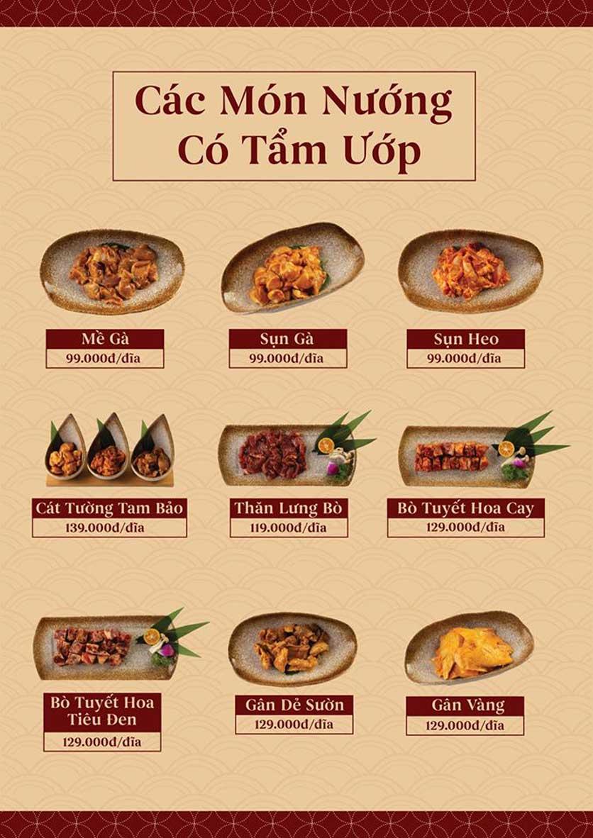 Menu ChiFan - Trung Hòa 15