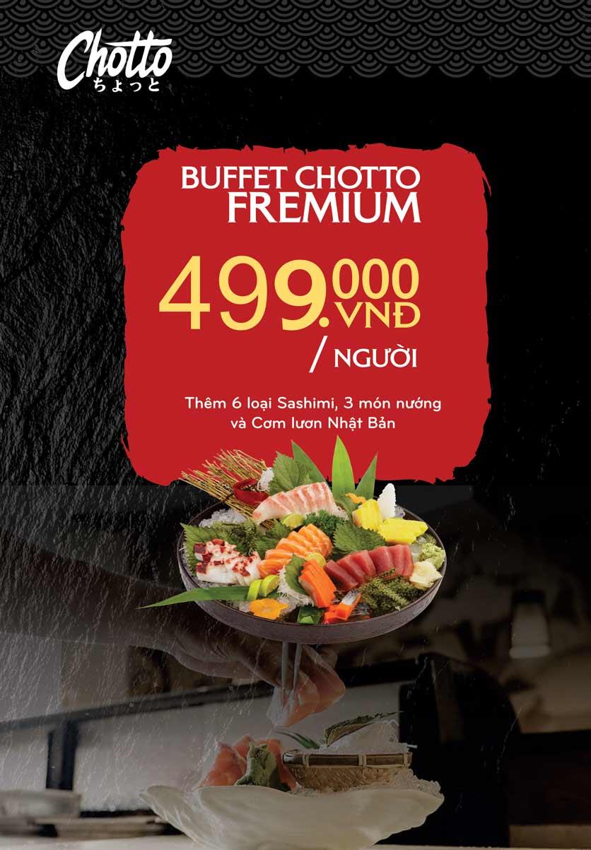 Menu Chotto - Sushi & BBQ - Vũ Phạm Hàm 16