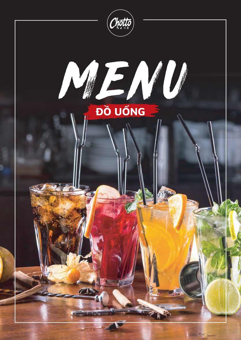 Menu Chotto - Sushi & BBQ - Vũ Phạm Hàm 20