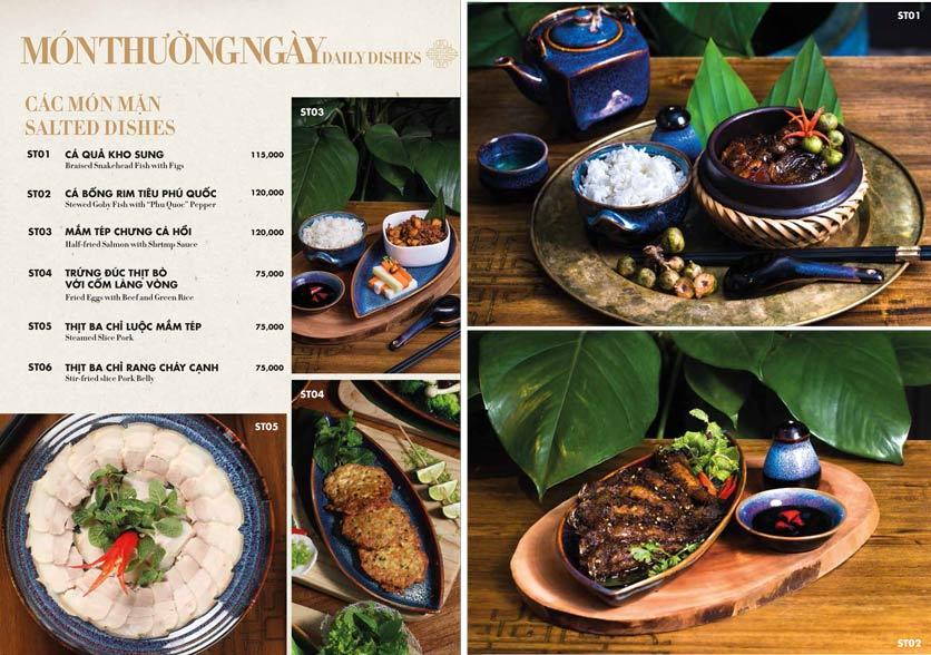 Menu 1915y Restaurant – Trung Hòa 16