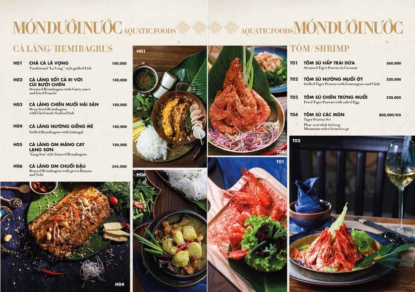 Menu 1915y Restaurant – Trung Hòa 18