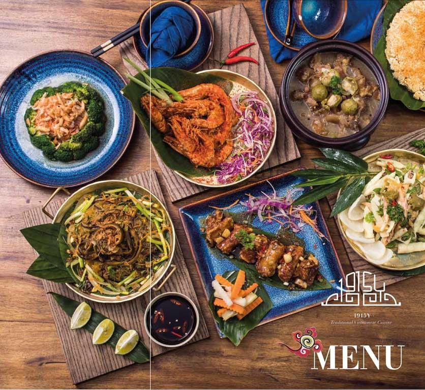 Menu 1915y Restaurant – Trung Hòa 4