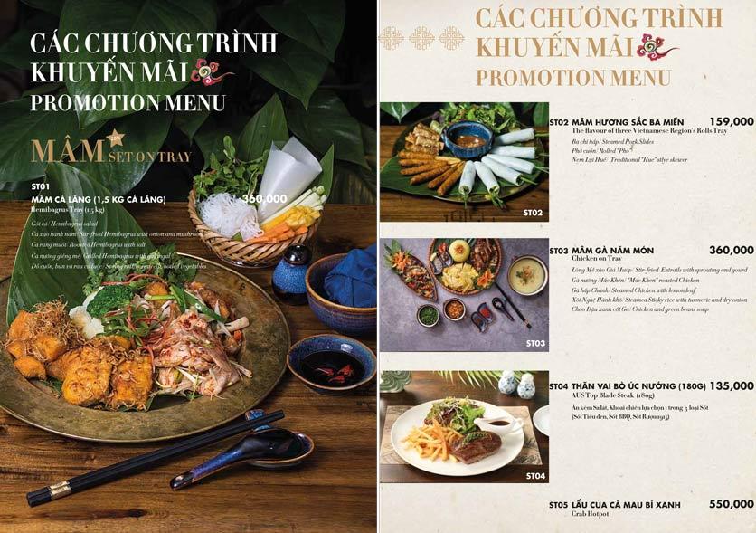 Menu 1915y Restaurant – Trung Hòa 7