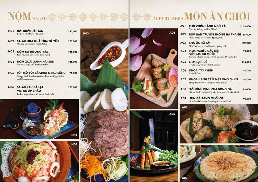 Menu 1915y Restaurant – Trung Hòa 9