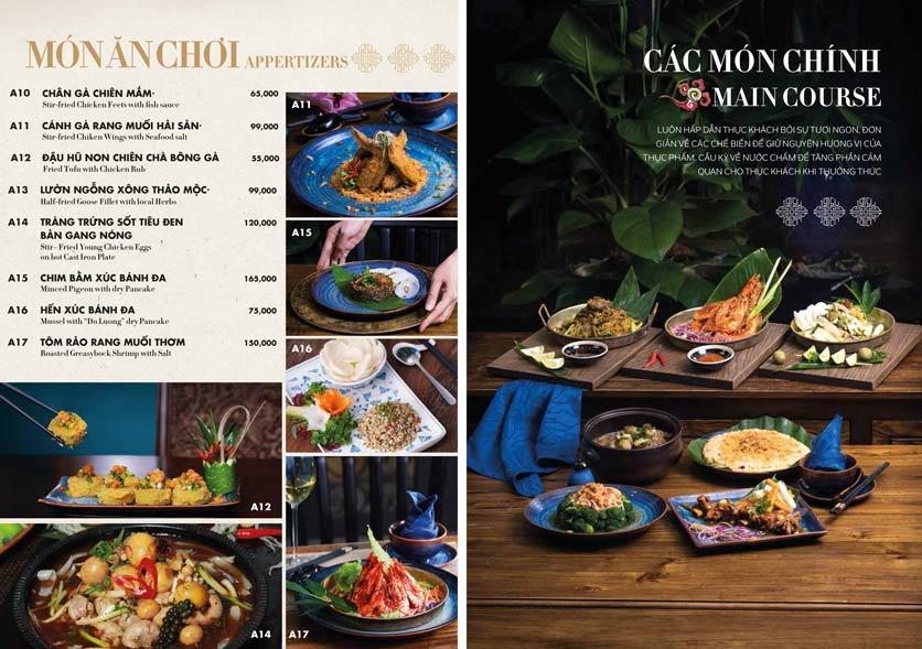 Menu 1915y Restaurant – Trung Hòa 10