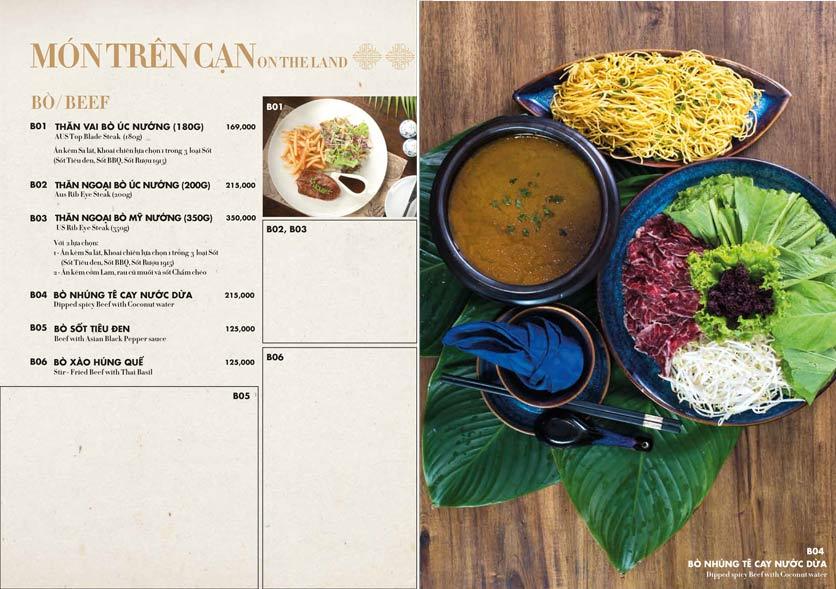 Menu 1915y Restaurant – Trung Hòa 11