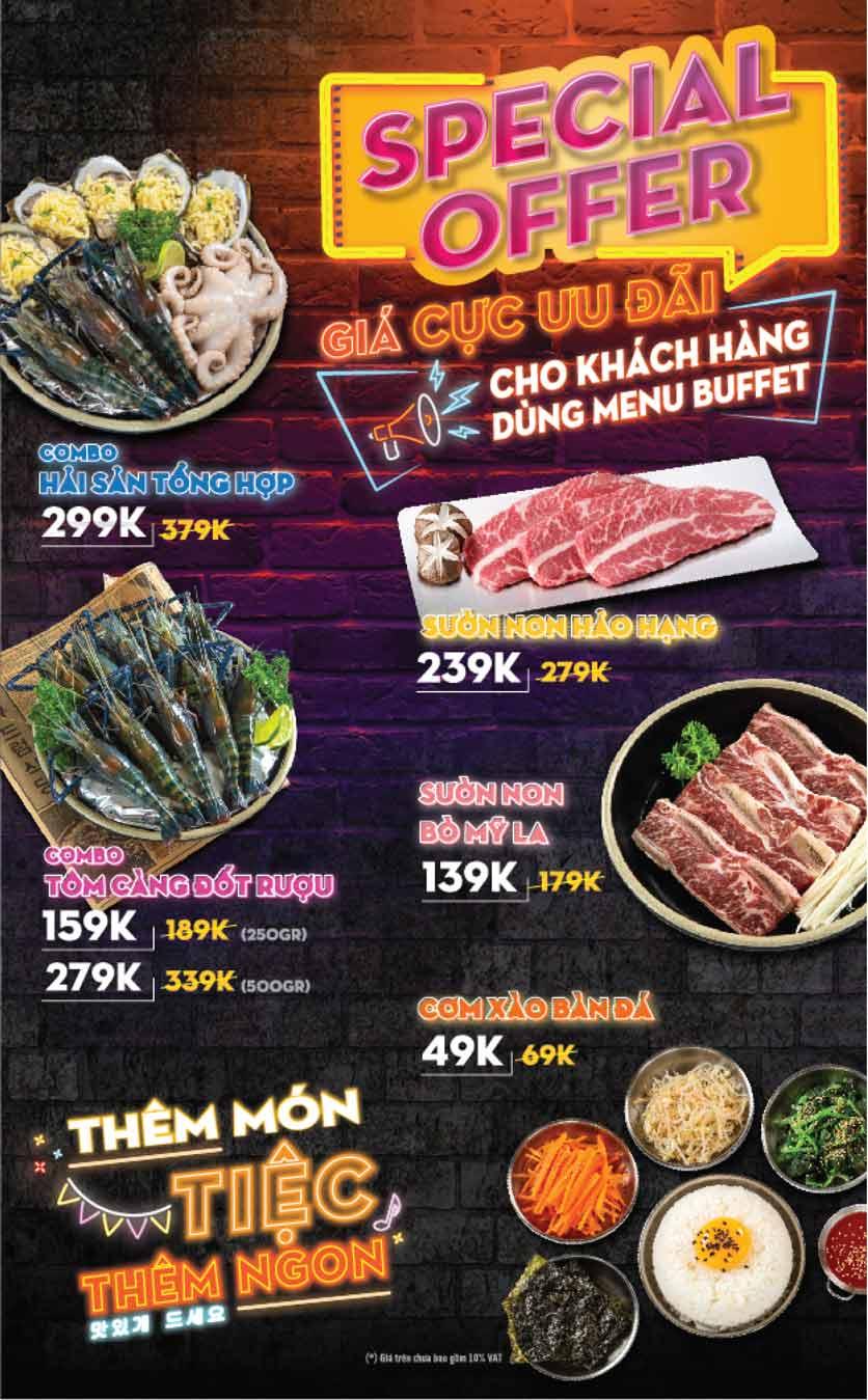 Menu K-Pub - Aeon Mall Bình Tân 10