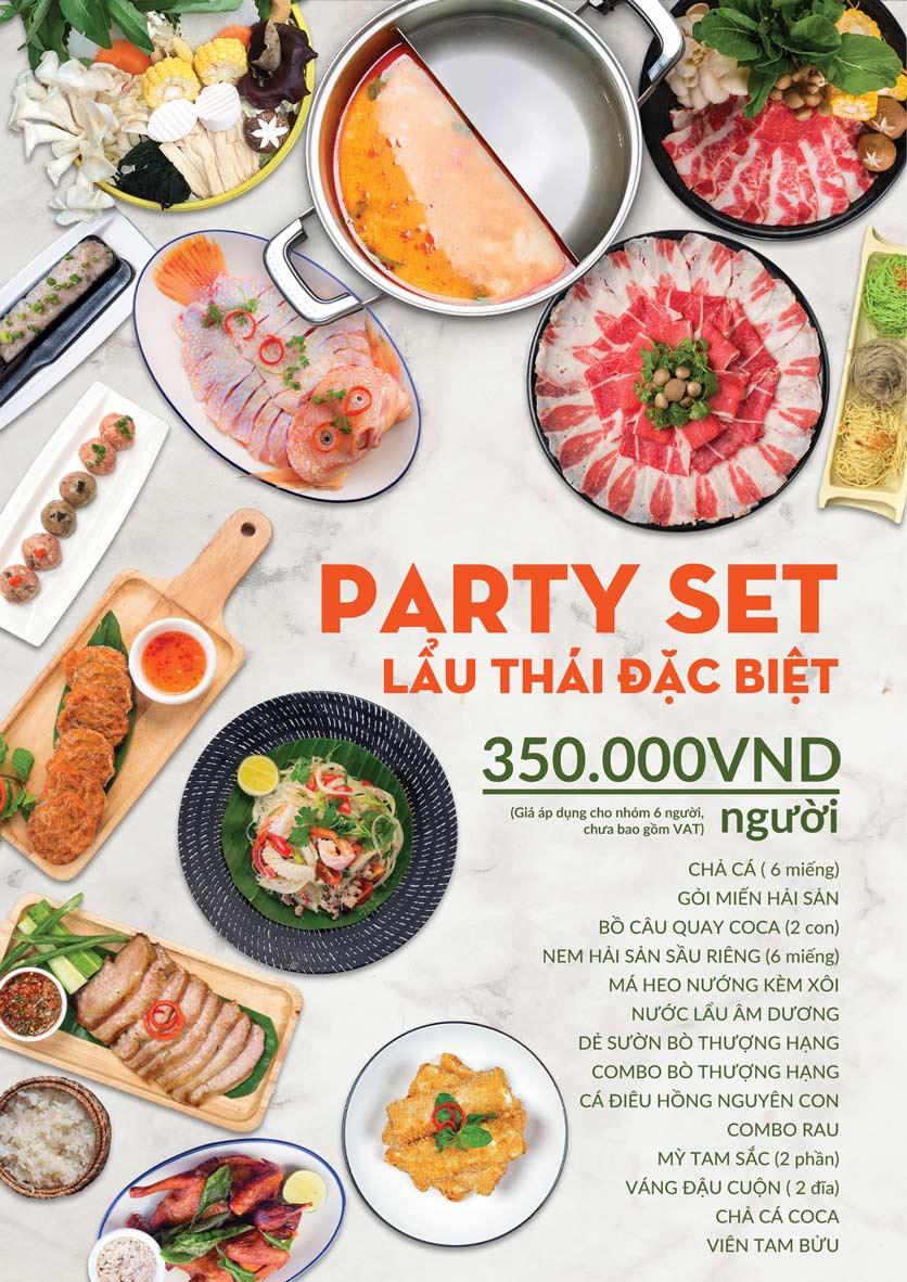 Menu COCA Restaurant - Nhà hàng lẩu Thái - Láng Hạ 7