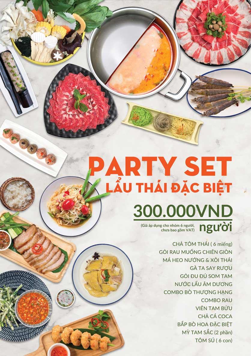 Menu COCA Restaurant - Nhà hàng lẩu Thái - Láng Hạ 1