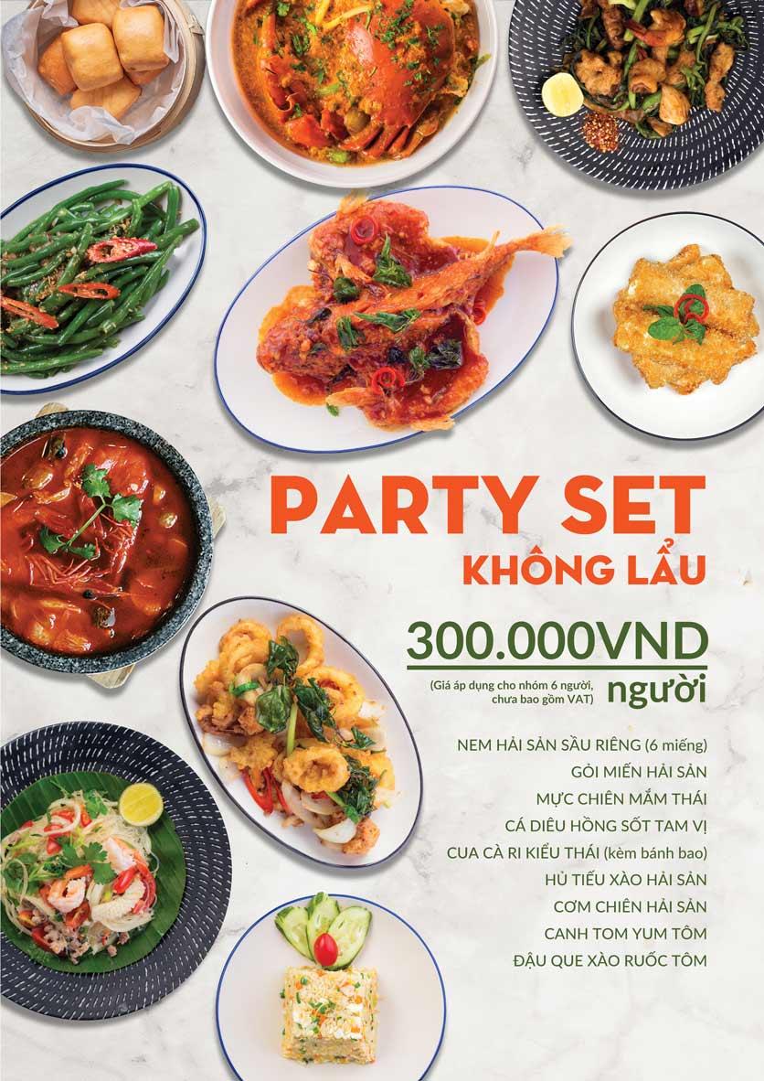 Menu COCA Restaurant - Nhà hàng lẩu Thái - Láng Hạ 2