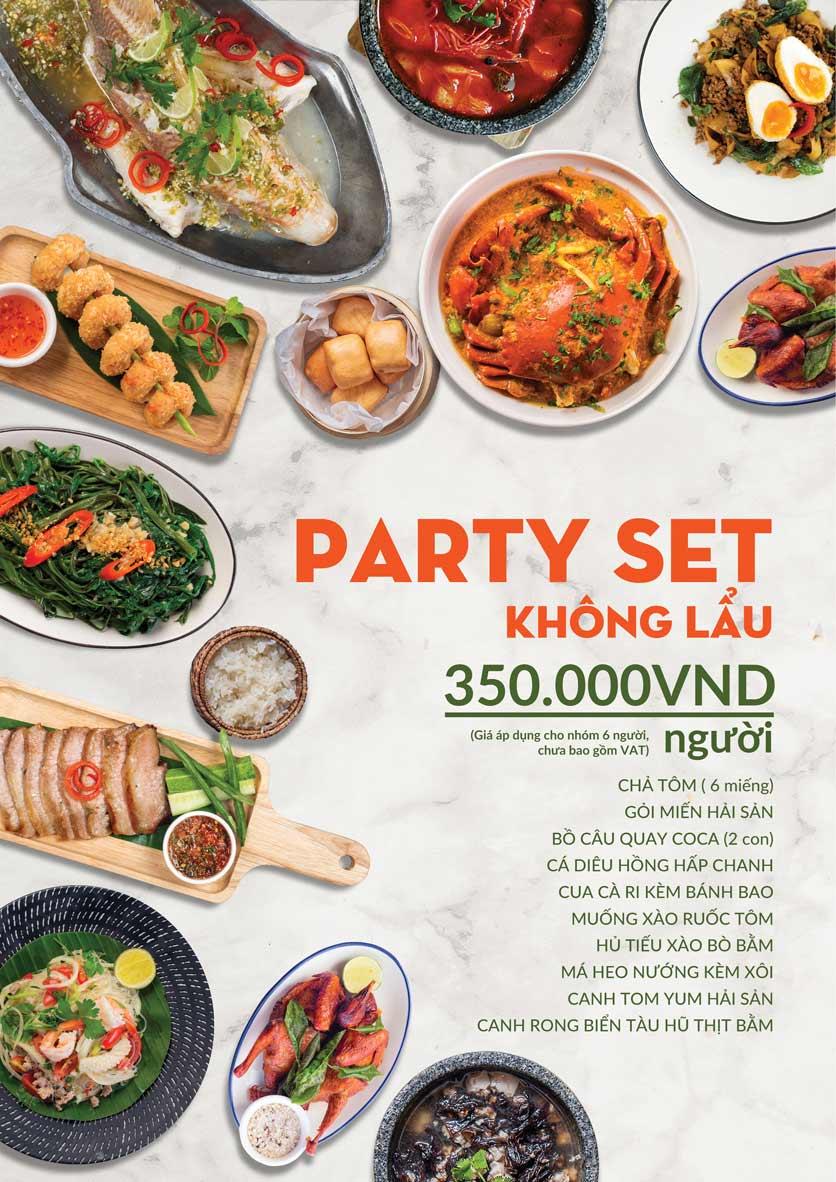 Menu COCA Restaurant - Nhà hàng lẩu Thái - Láng Hạ 3