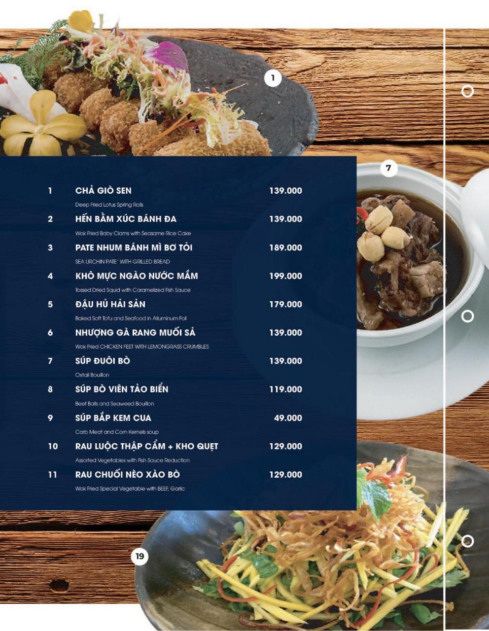 Menu Cột Điện Kitchen – Đồng Nai 2