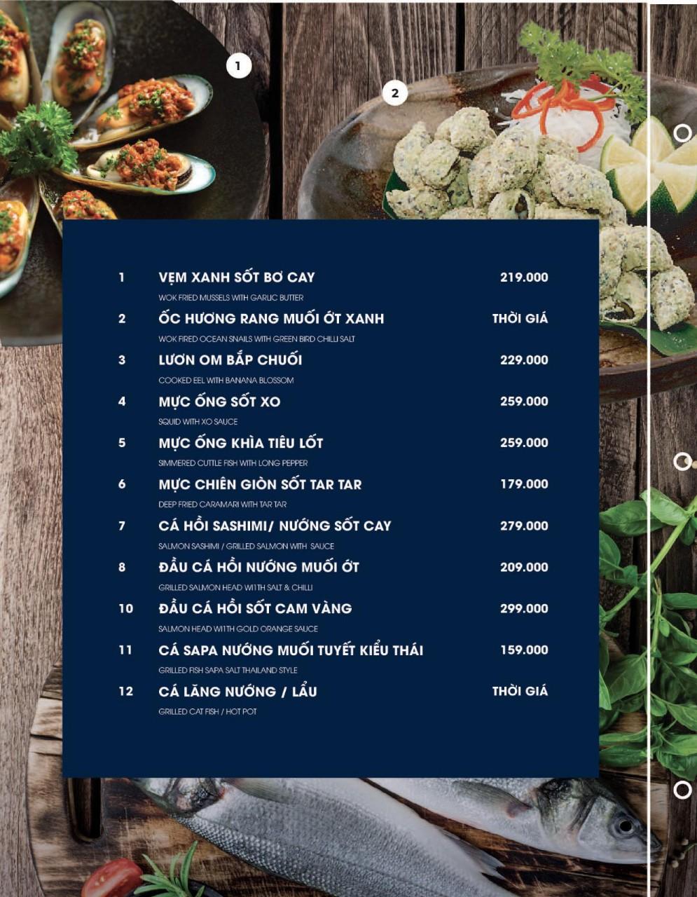 Menu Cột Điện Kitchen – Đồng Nai 4