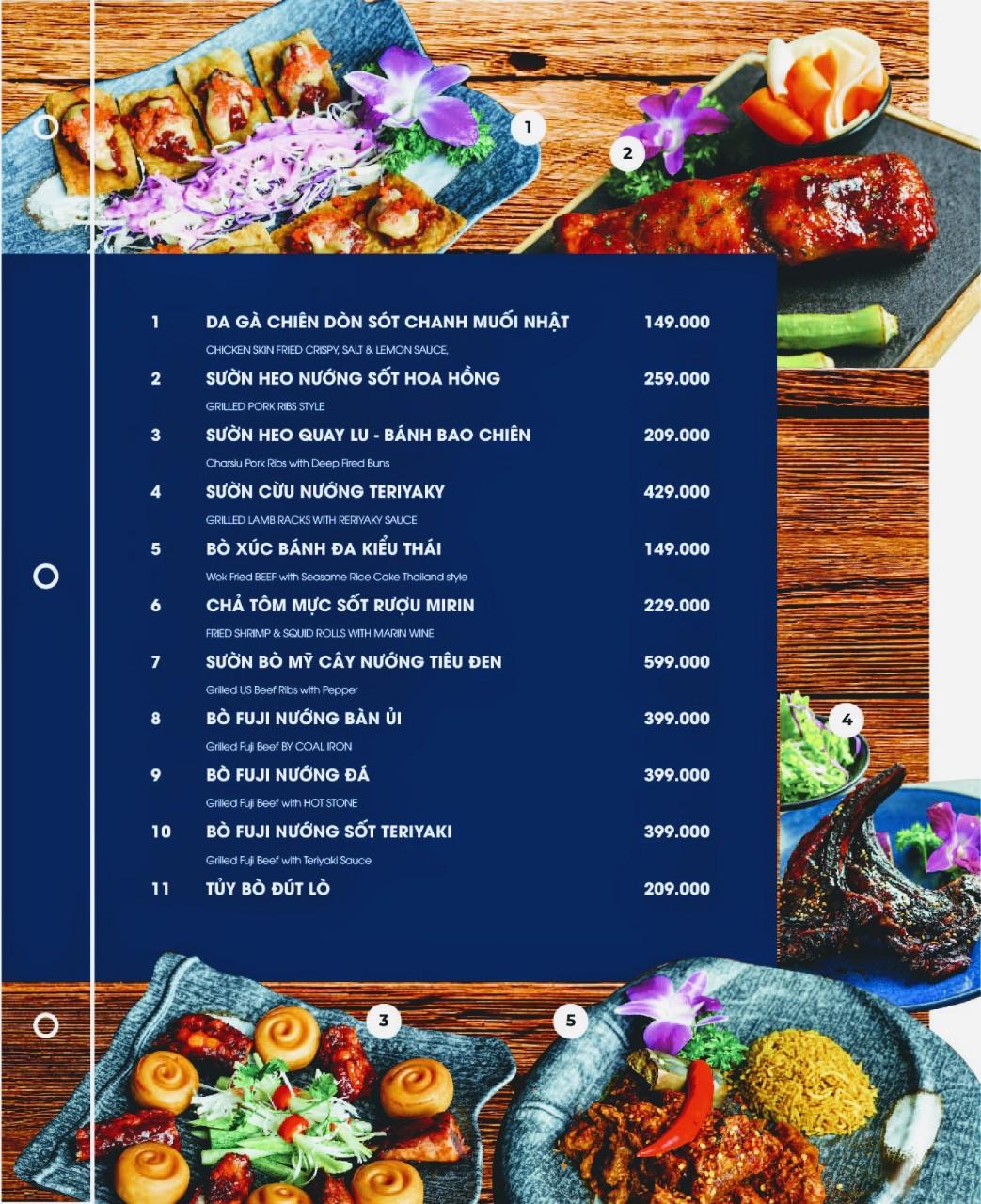 Menu Cột Điện Kitchen – Đồng Nai 5