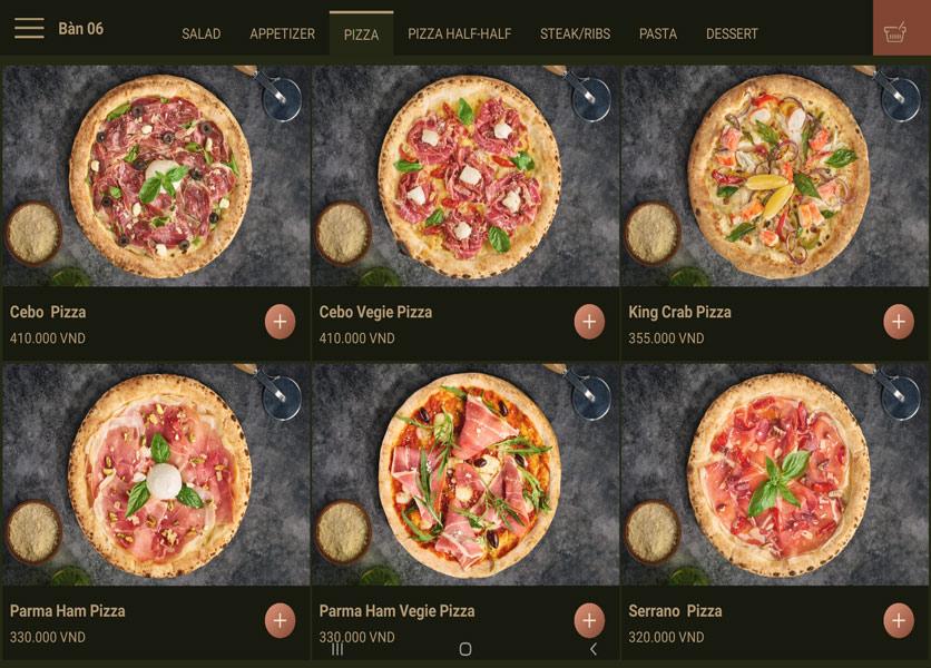 Menu Cowboy Jack's 500 Pizza – Láng Hạ 3