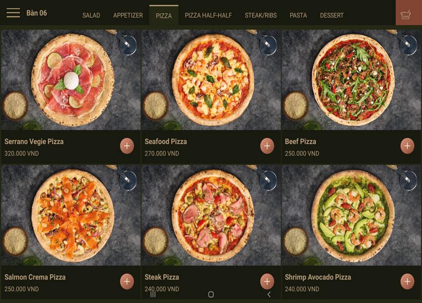 Menu Cowboy Jack's 500 Pizza – Láng Hạ 4