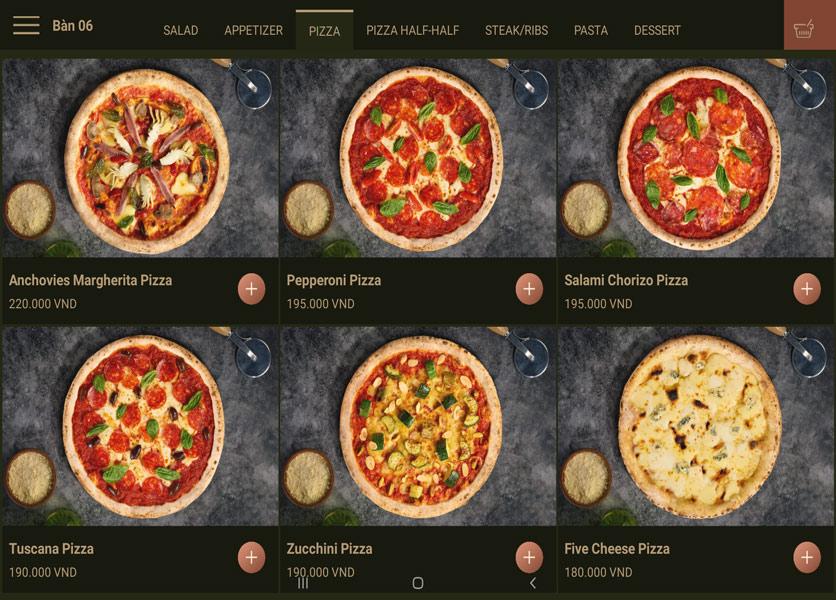 Menu Cowboy Jack's 500 Pizzeria – Láng Hạ 5