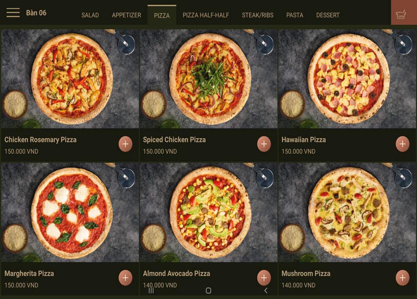 Menu Cowboy Jack's 500 Pizza – Láng Hạ 6