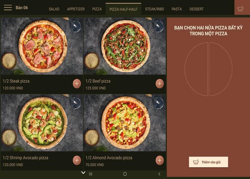 Menu Cowboy Jack's 500 Pizzeria – Láng Hạ 8