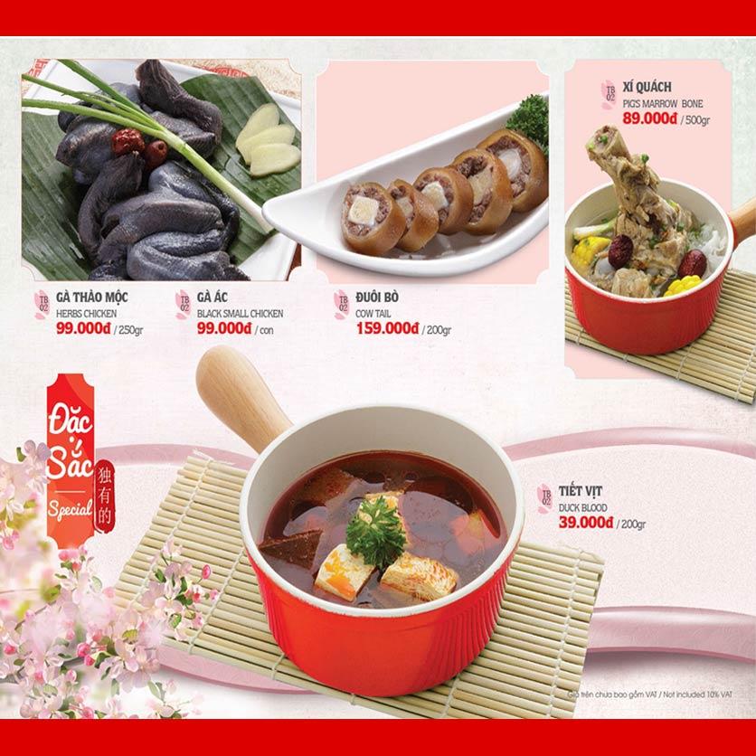 Menu Dao Hua – Hoàng Hoa Thám 10