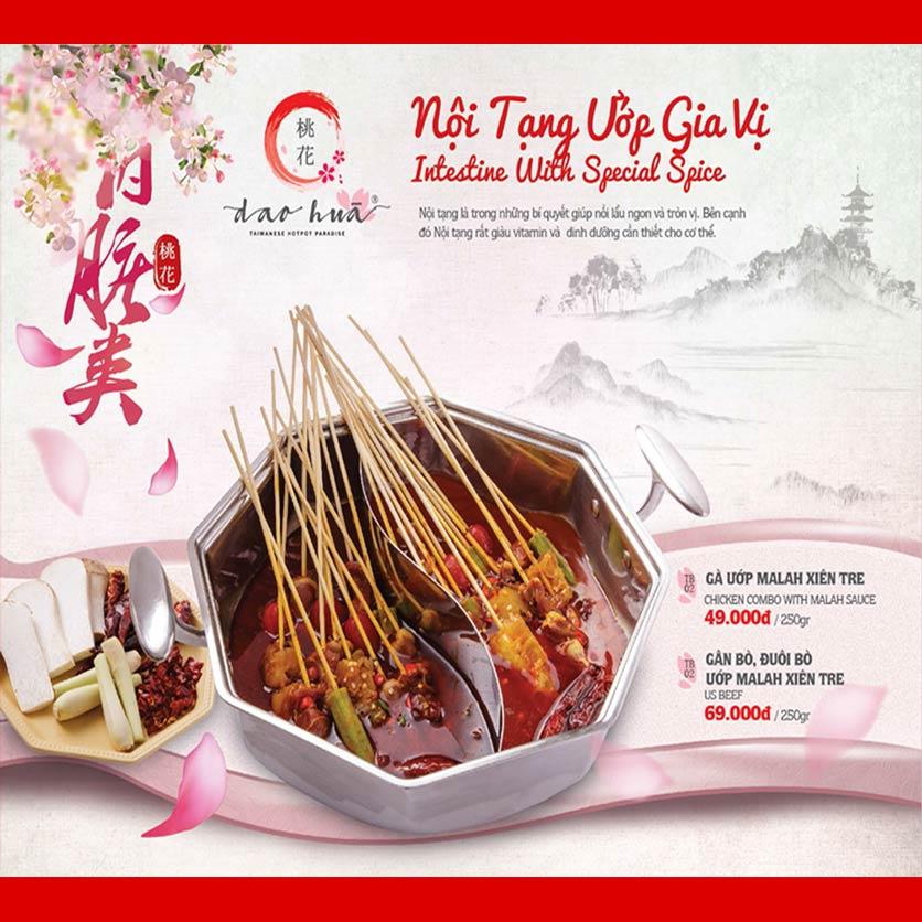 Menu Dao Hua – Hoàng Hoa Thám 11