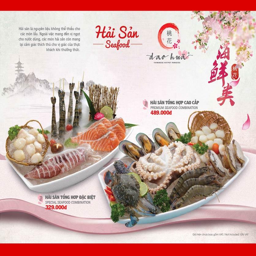 Menu Dao Hua – Hoàng Hoa Thám 14