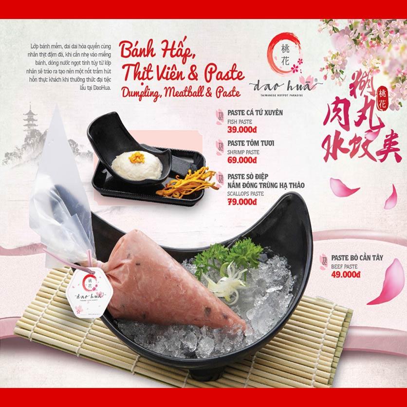 Menu Dao Hua – Hoàng Hoa Thám 18