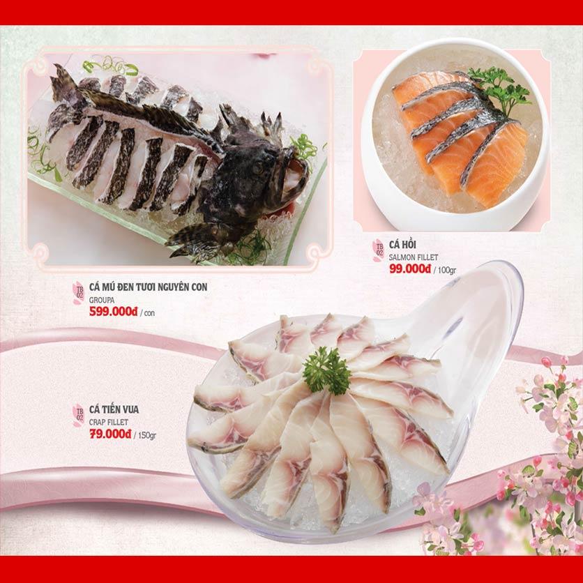 Menu Dao Hua – Hoàng Hoa Thám 19