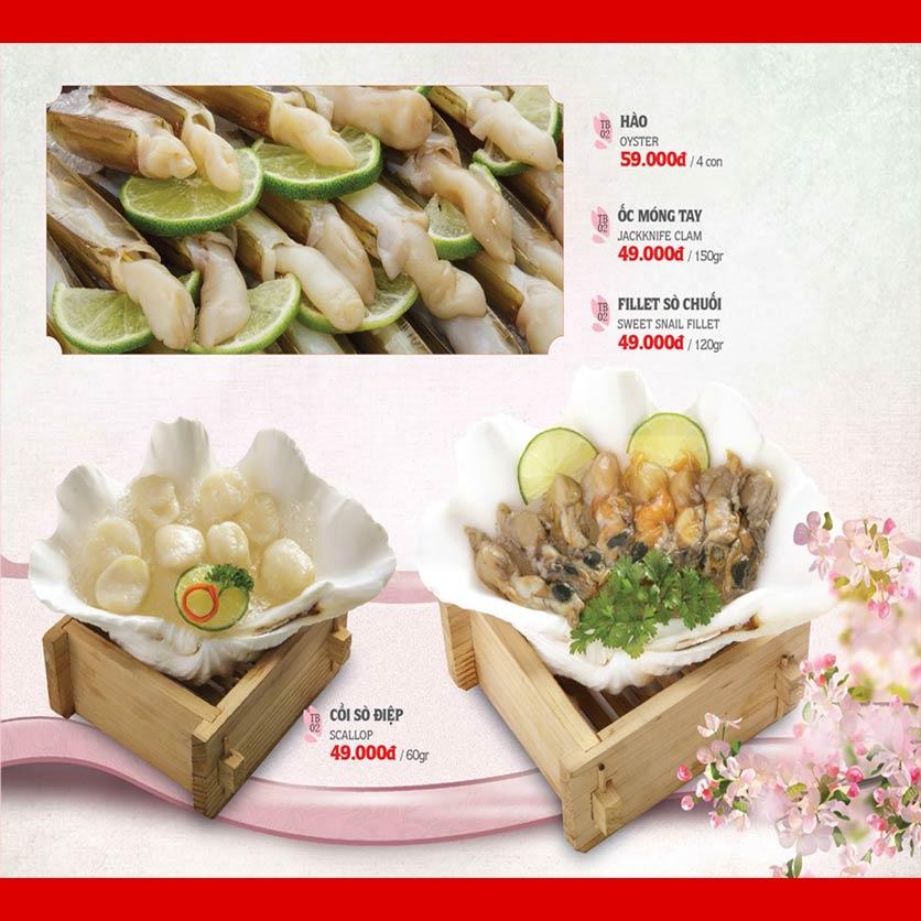 Menu Dao Hua – Hoàng Hoa Thám 20
