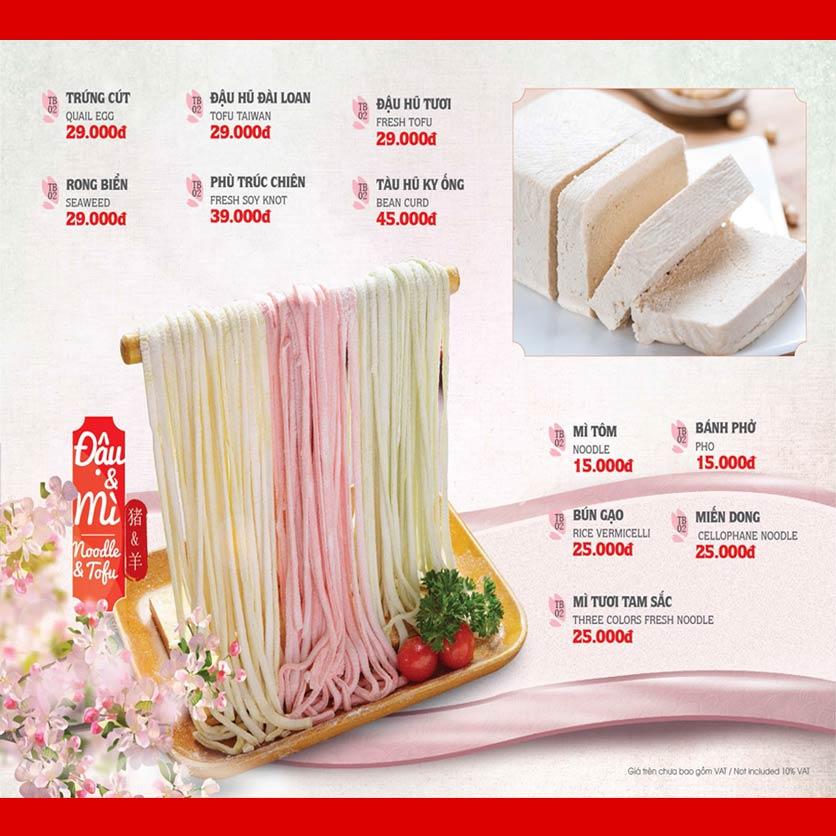 Menu Dao Hua – Hoàng Hoa Thám 22